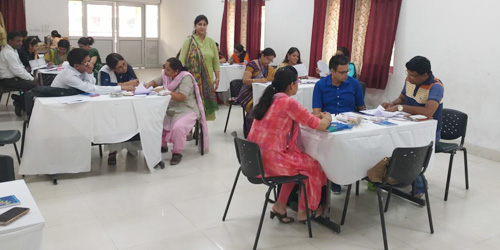 Workshop on Capacity Building Programme by CBSE