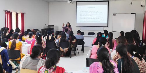 Workshop on Classroom Techniques for English Language Teaching