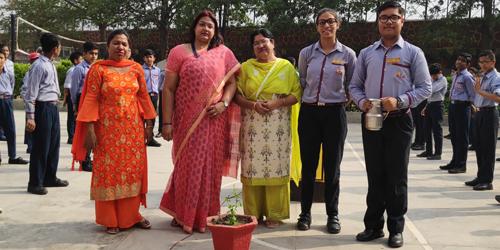 Tree Plantation on the occasion of Van Mahotsav Day