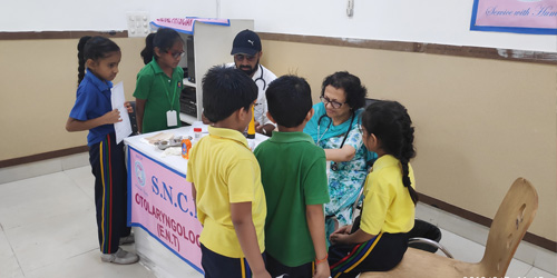 Free Health Checkup Camp for Students