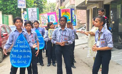 Rally for Water Conservation