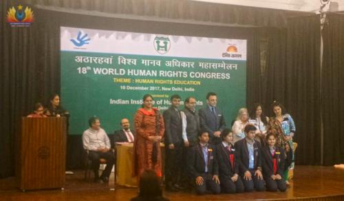 ACHIEVEMENT OF HUMAN RIGHTS AWARD (1)